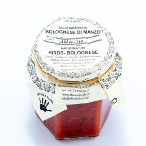 Sauce Rinds- Bolognese